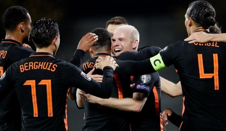 ผลบอล ลัตเวีย 0-1 เนเธอร์แลนด์ ฟุตบอลโลก รอบคัดเลือก โซนยุโรป 09 ต.ค. 2021