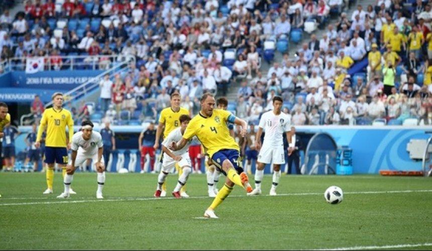 ข่าว สวีเดน 1-0 เกาหลีใต้