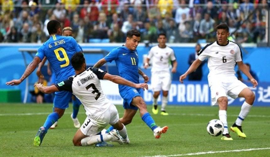 ข่าว บราซิล 2-0 คอสตาริกา