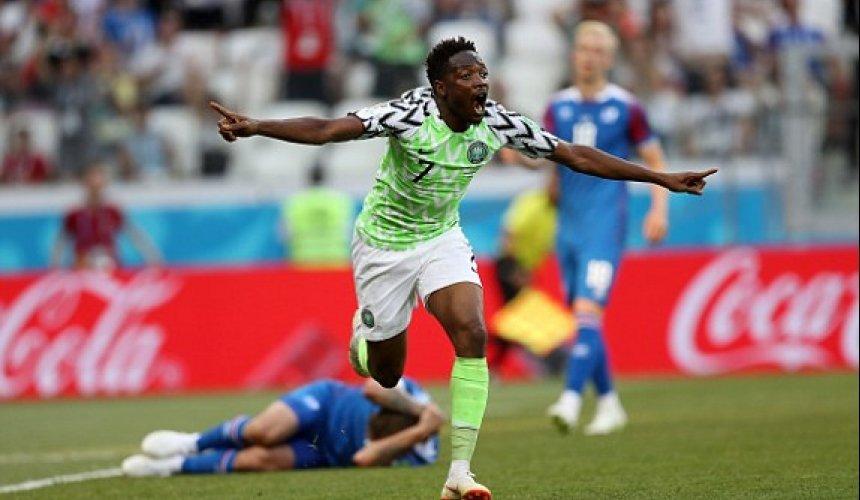 ข่าว ไนจีเรีย 2-0 ไอซ์แลนด์