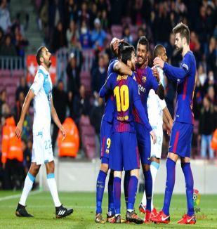 อ่าน ข่าว บาร์เซโลน่า 4-0 เดปอร์ติโบ ลา กอรุนญ่า