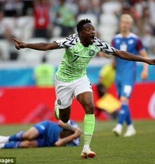 อ่าน ข่าว ไนจีเรีย 2-0 ไอซ์แลนด์