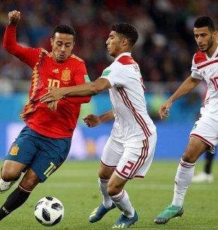 อ่าน ข่าว สเปน 2-2 โมร็อกโก