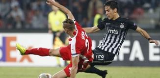ปาร์ติซาน เบลเกรด 2-0 สเคนเดอร์บู คอร...