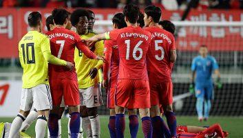 เกาหลีใต้ 2-1 โคลอมเบีย