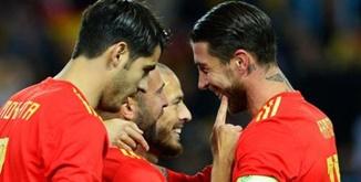 สเปน 5-0 คอสตาริกา