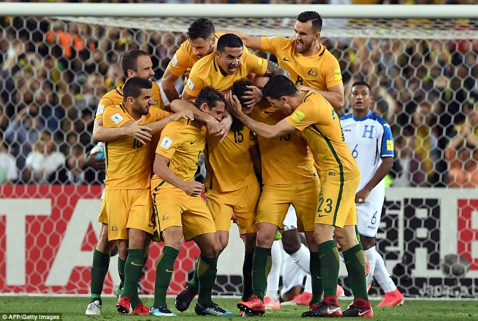 ออสเตรเลีย 3-1 ฮอนดูรัส
