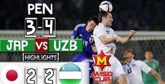 ไฮไลท์ฟุตบอล ญี่ปุ่น 2-2 อุซเบกิสถาน