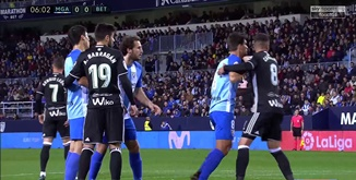 ไฮไลท์ฟุตบอล มาลาก้า 0-2 เรอัล เบติส