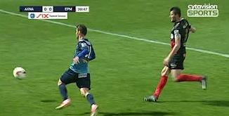 ไฮไลท์ฟุตบอล เอธนิกอส อัชนาส เอฟซี 0-0 เอร์มิส อราด...