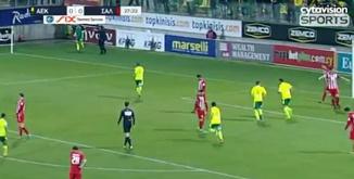 ไฮไลท์ฟุตบอล เออีเค ลาร์นาก้า 2-0 เนีย ซาลามิส