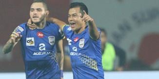 ไฮไลท์ฟุตบอล Jamshedpur FC 2-2 มุมไบซิตี้