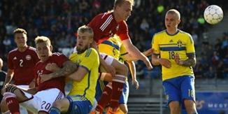 <h5 class='title_clip'>ไฮไลท์ฟุตบอล สวีเดน 1-0 เดนมาร์ก</h5>