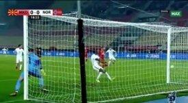ไฮไลท์ฟุตบอล มาซิโดเนีย 2-0 นอร์เวย์