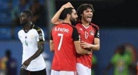 ไฮไลท์ฟุตบอล กานา 1-1 อียิปต์