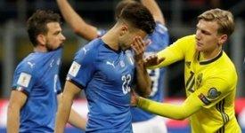 ไฮไลท์ฟุตบอล อิตาลี 0-0 สวีเดน