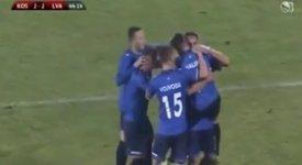 ไฮไลท์ฟุตบอล โคโซโว 4-3 ลัตเวีย