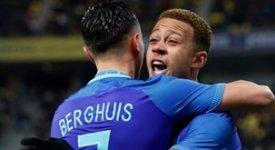 ไฮไลท์ฟุตบอล โรมาเนีย 0-3 เนเธอร์แลนด์