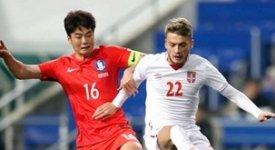 ไฮไลท์ฟุตบอล เกาหลีใต้ 1-1 เซอร์เบีย