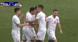 ไฮไลท์ฟุตบอล อาร์เมเนีย 0-1 เซอร์เบีย