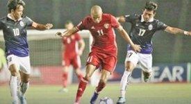 ไฮไลท์ฟุตบอล กัมพูชา 0-1 จอร์แดน