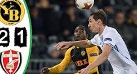ไฮไลท์ฟุตบอล ยัง บอยส์ 2-1 สเคนเดอร์บู คอร์เซ่