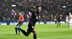 ไฮไลท์ฟุตบอล ไทย 2-1 ญี่ปุ่น