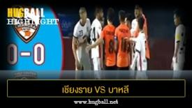 ไฮไลท์ฟุตบอล เชียงราย ยูไนเต็ด 0-0 บาหลี ยูไนเต็ด