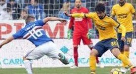 ไฮไลท์ฟุตบอล ซามพ์โดเรีย 2-0 เอลลาส เวโรน่า