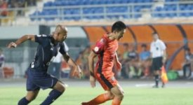 ไฮไลท์ฟุตบอล สุพรรณบุรี เอฟซี 1-0 นครราชสีมา เอฟซี