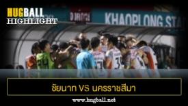 ไฮไลท์ฟุตบอล ชัยนาท เอฟซี 1-2 นครราชสีมา เอฟซี