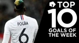 ไฮไลท์ฟุตบอล 10 อันดับประตูยอดเยี่ยมประจำสัปดาห์ล่าสุด 2-4-2018