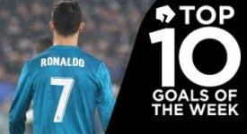 ไฮไลท์ฟุตบอล 10 อันดับประตูยอดเยี่ยมประจำสัปดาห์ 09-04-2018