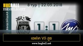 ไฮไลท์ฟุตบอล เอฟเค อิสล็อก มินส์ค 1-1 Luch Minsk