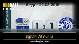 ไฮไลท์ฟุตบอล ซลูตัสค์ 1-1 ดินาโม เบรสต์
