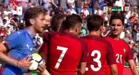 ไฮไลท์ฟุตบอล โปรตุเกส 3-2 อิตาลี (กระชับมิตร U21)