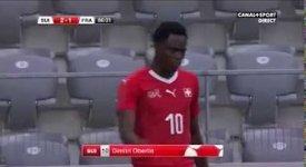 ไฮไลท์ฟุตบอล สวิตเซอแลนด์ 2-1 ฝรั่งเศส (กระชับมิตร U-21)