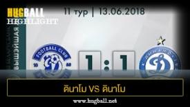 ไฮไลท์ฟุตบอล ดินาโม เบรสต์ 1-1 ดินาโม มินส์ค
