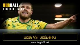 ไฮไลท์ฟุตบอล นอริช ซิตี้ 3-1 เบอร์มิงแฮม