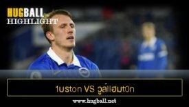 ไฮไลท์ฟุตบอล 1บรton llอนด์ อัลlบียn 3-3 วูล์llฮมt0n