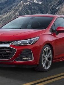 Chevrolet Cruze Facelift มาดใหม่..เก๋งสปอร์ตค่ายโบว์ไท