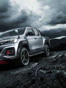 Toyota Hilux Black Rally Edition กระบะรุ่นพิเศษ เตรียมเผย Tokyo Auto Salon 2019