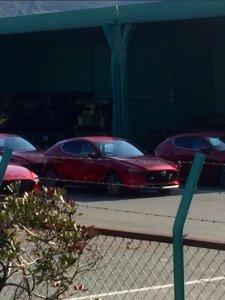 ตัวจริง โฉมจริง!! All New Mazda 3 เก๋ง Zoom-Zoom เจนใหม่ ก่อนส่งไปยังต่างประเทศ