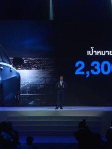 โตโยต้า ตั้งเป้ารถใหม่ All New Toyota Corolla Altis ด้วยยอด 2,300 คัน/เดือน