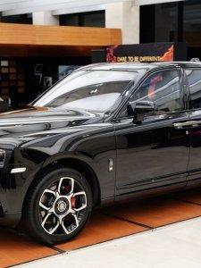 Rolls-Royce Black Badge Cullinan อัครเอสยูวี ราชันย์แห่งรัตติกาล